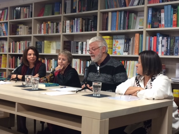 Book Presentation of the Greek edition of The Healing Relationship in Gestalt Therapy (Greek edition-Sideris Publications) at the venue BOOKSTORES in central Athens.